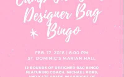 Camp Jamison's 2nd Annual Designer Bag Bingo